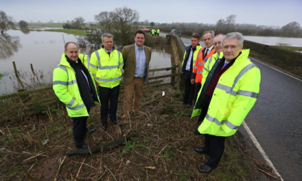 Ministerial visit for Dalton Bridge and Highway Scheme