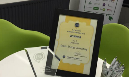 Green Energy Company Excels in Industry Awards Ceremony