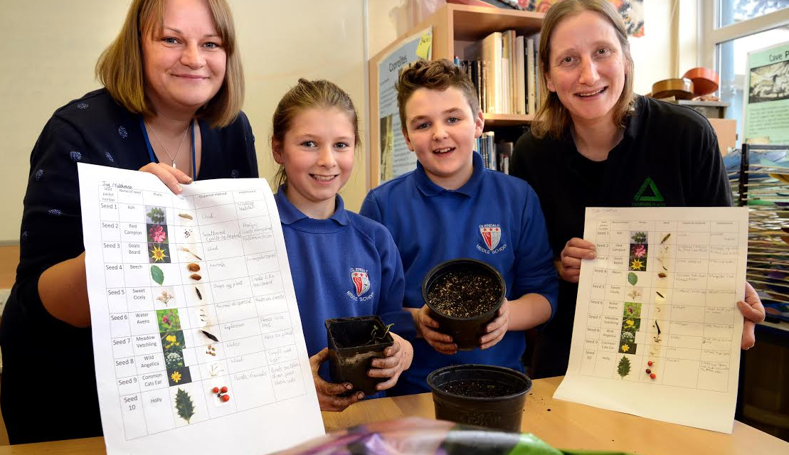 Green fingered pupils enhance horticultural skills and improve green space