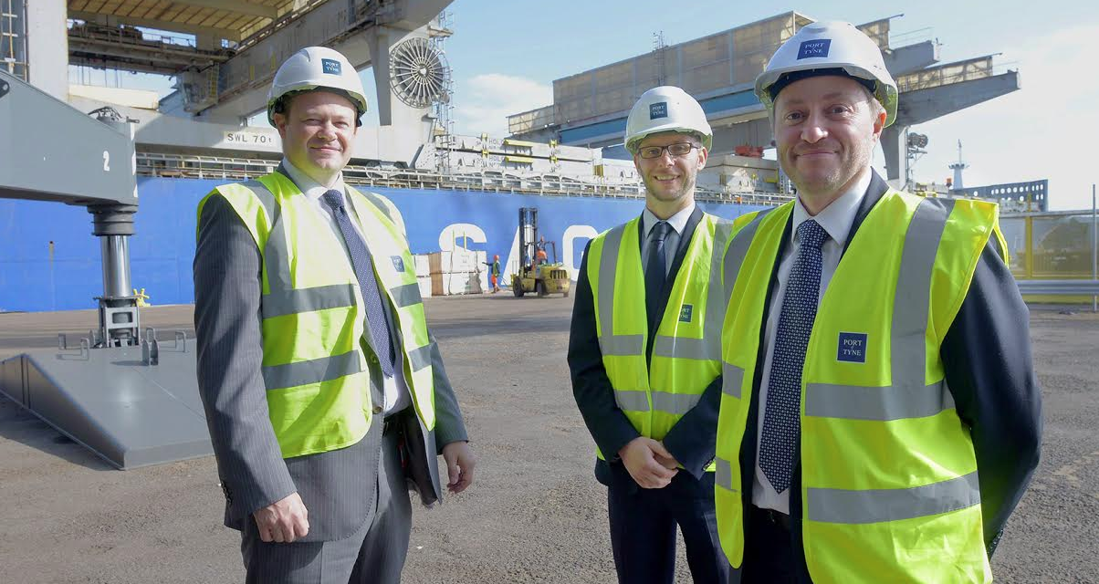 Port of Tyne announces new contract with International Plywood