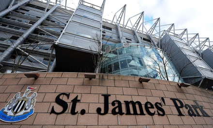 St James' Park gives love the green light