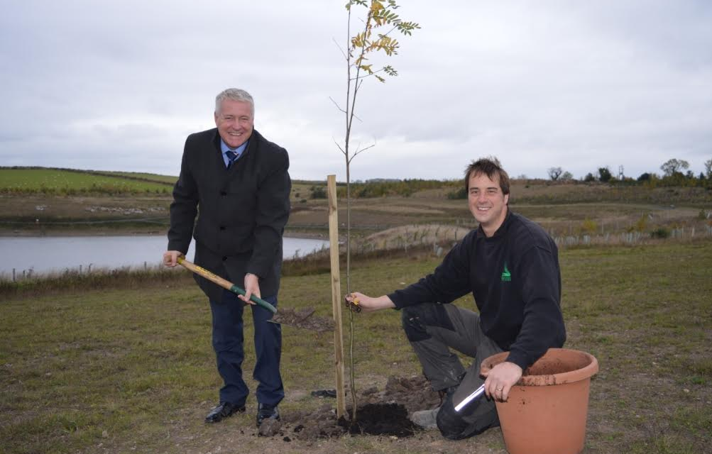 Local MP puts down roots at official opening for phase 2 of Pegswood Country Park