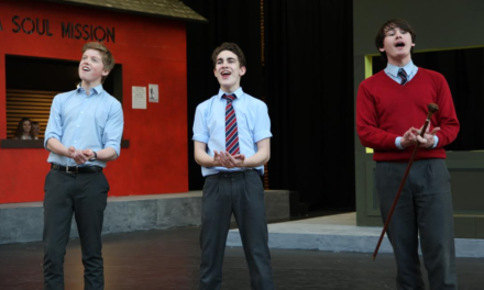 Yarm School pupils rolling the dice with Guys & Dolls production