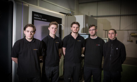 New apprentices help Omega tool-up for growth