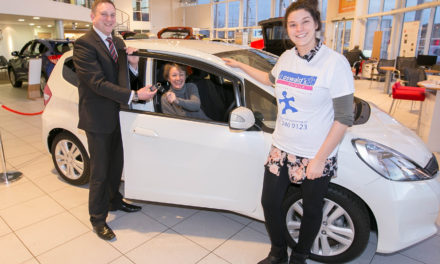 Car raffle raises more than £46,000 for children's hospice