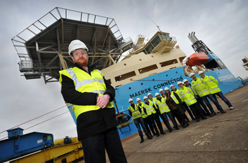 DeepOcean engages UK supply chain for final fit out of new cable installation vessel