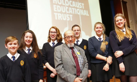 Students inspired by one of the last surviving Holocaust victims