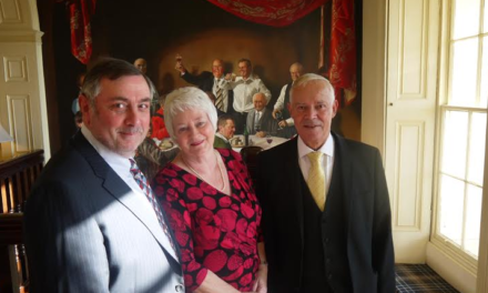 There's No 'Plaice' Like Hardwick for Ruby Couple