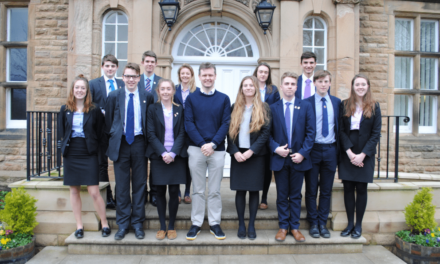 City high flyer advises Sixth Formers at Barnard Castle School