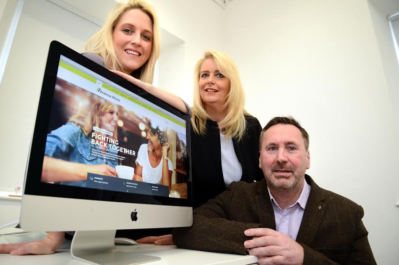 Boost for Newcastle-based mental health charity Anxious Minds
