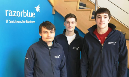 NE IT experts help Darlington apprentices onto the career ladder