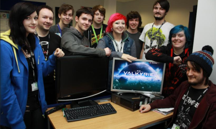 Student gamers test new global virtual reality game pioneered in North