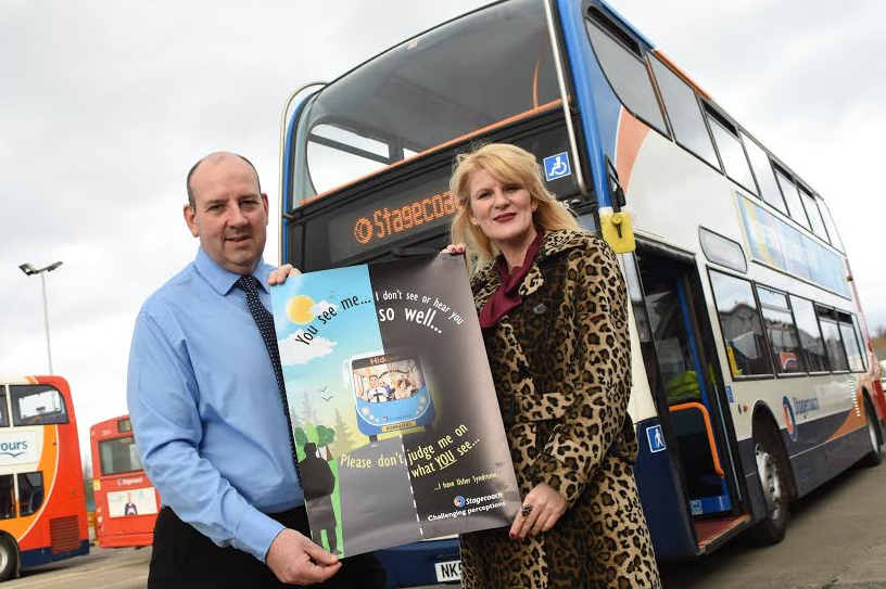 Jo Milne Collaborates with North East Bus Company