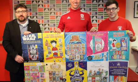 Youngsters chance to win on World Book Day with Boro and WHSmith