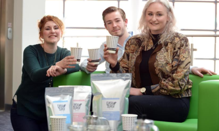 Narrative stirs up support for tea company