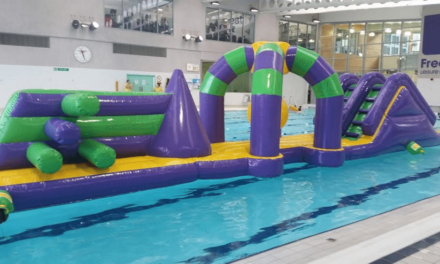 Chance to try new swimming pool inflatable for free