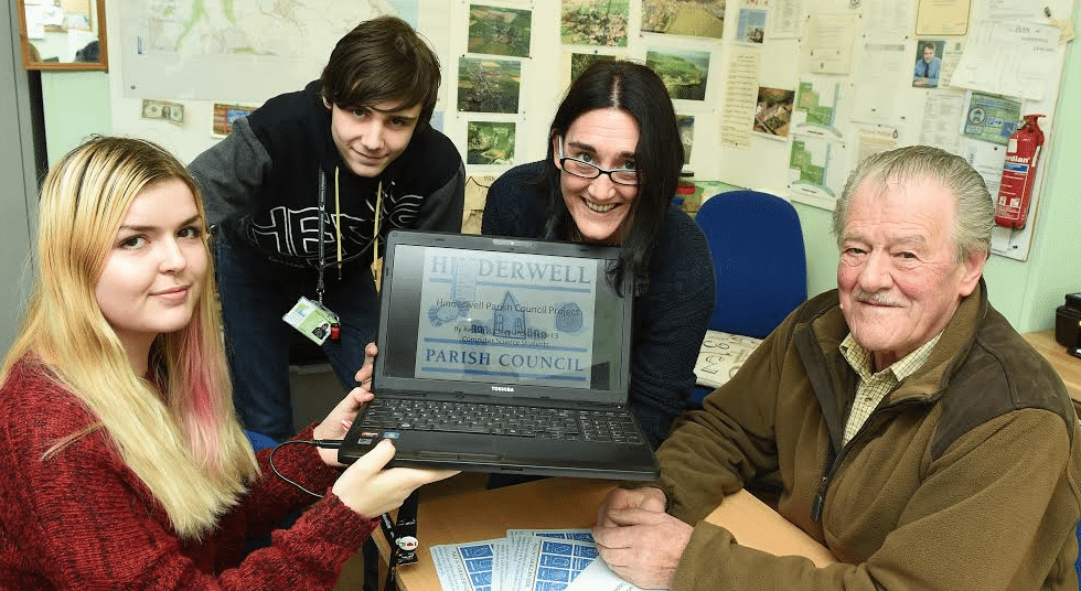 Parish council champions the digital revolution