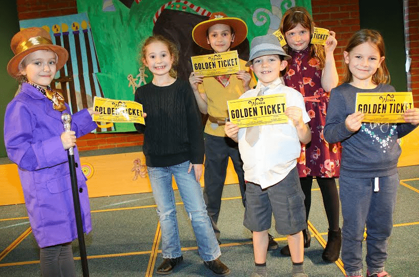 Budding actors take the biscuit