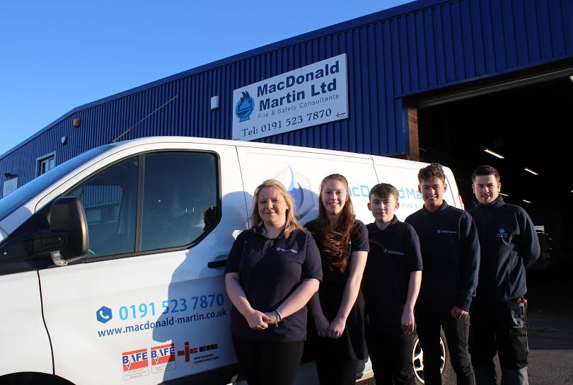 Apprentices are all fired up!