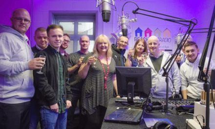 Mayor and Council Leader launches local radio for Blyth!