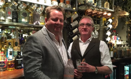 Award winning bar and distiller join forces