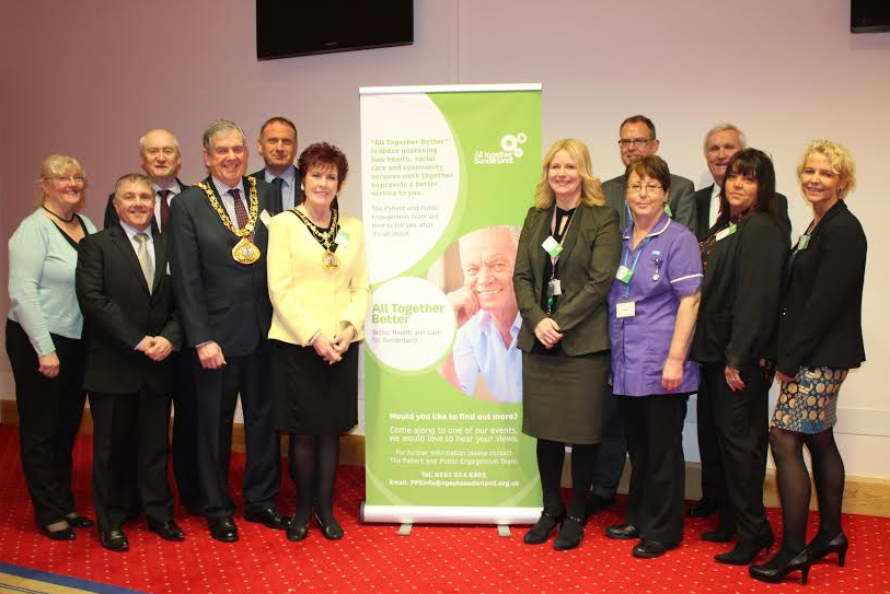 Event celebrates support to shaping new service
