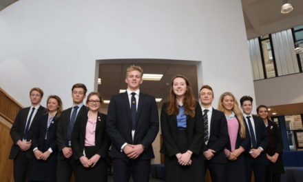 Students benefit from a new dedicated sixth form centre