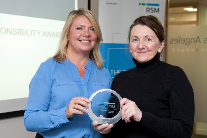 Two North East employees win national charity prize