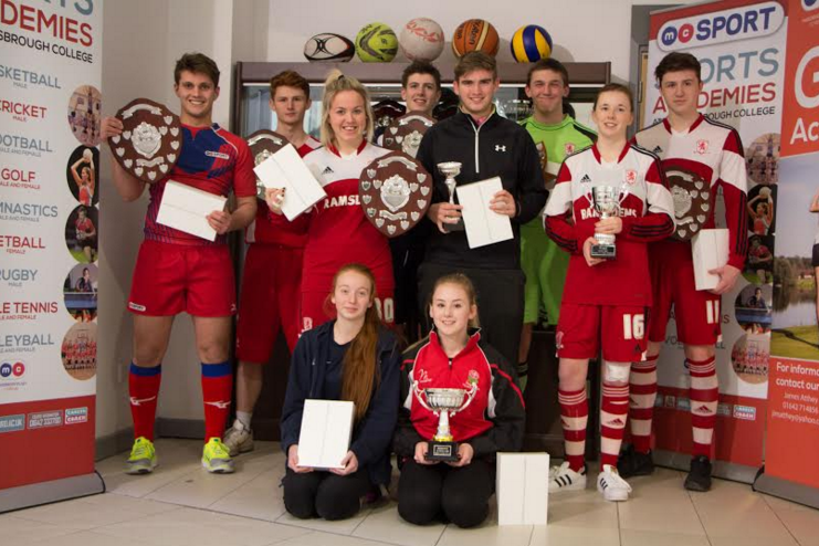 Young athletes train to win at Middlesbrough College