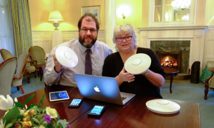 WiFi wows business clients at spa hotel