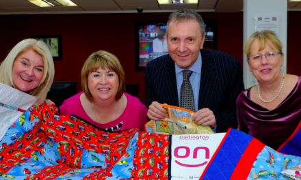 Darlington Building Society provides safety blanket to charity