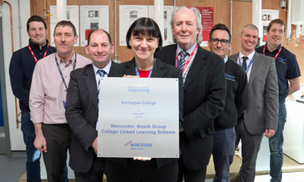 College Launches New Training Centre with Worcester Bosch