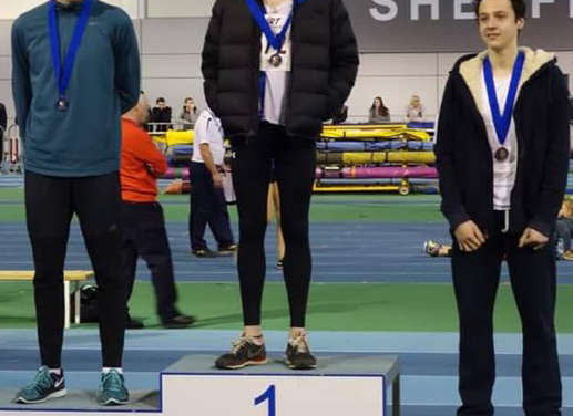 High Jumper Reaches New Heights