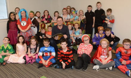 Author visits bring Books Alive on World Book Day