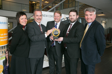 Newcastle dealership adds two Motability Awards to its growing collection