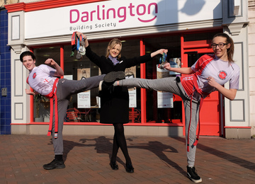 Building society supports rising martial art stars