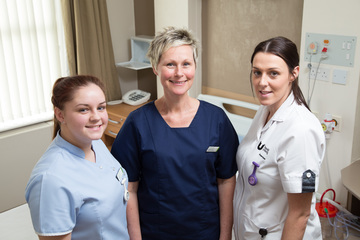 Nuffield Health Tees Hospital takes on two student nurses
