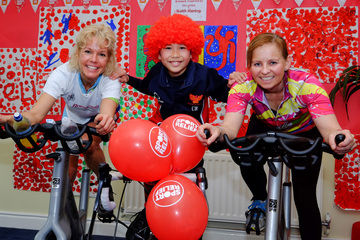 Yarm community pedal 'across Africa' for charity