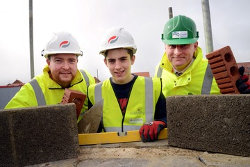 Redcar teen builds his experience on construction site