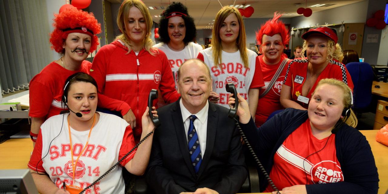 Council Rises to the Challenge for Sport Relief