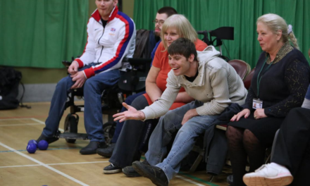 Boccia Club gets extra help from Paralympic Hero