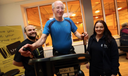 Abbey Leisure Centre celebrates 25 years