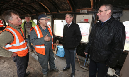 Railway Carriage to be Transformed Thanks to Council Grant