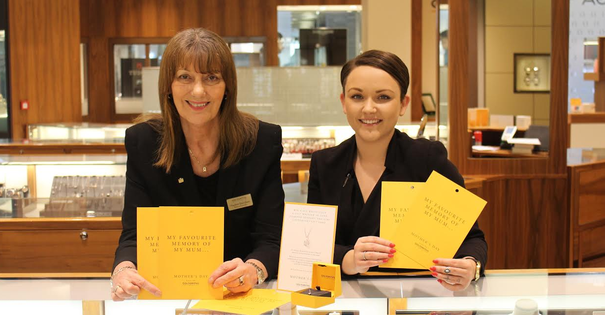 Goldsmiths to Crown one Special Winner for Mother's Day