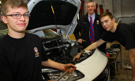 College apprentices move into the driving seat