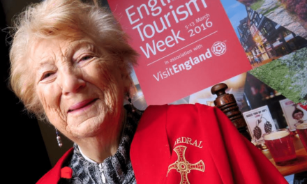 Durham's Lilian Groves announced as VisitEngland's Tourism Superstar 2016!