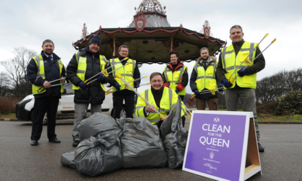 Borough comes together to Clean for the Queen