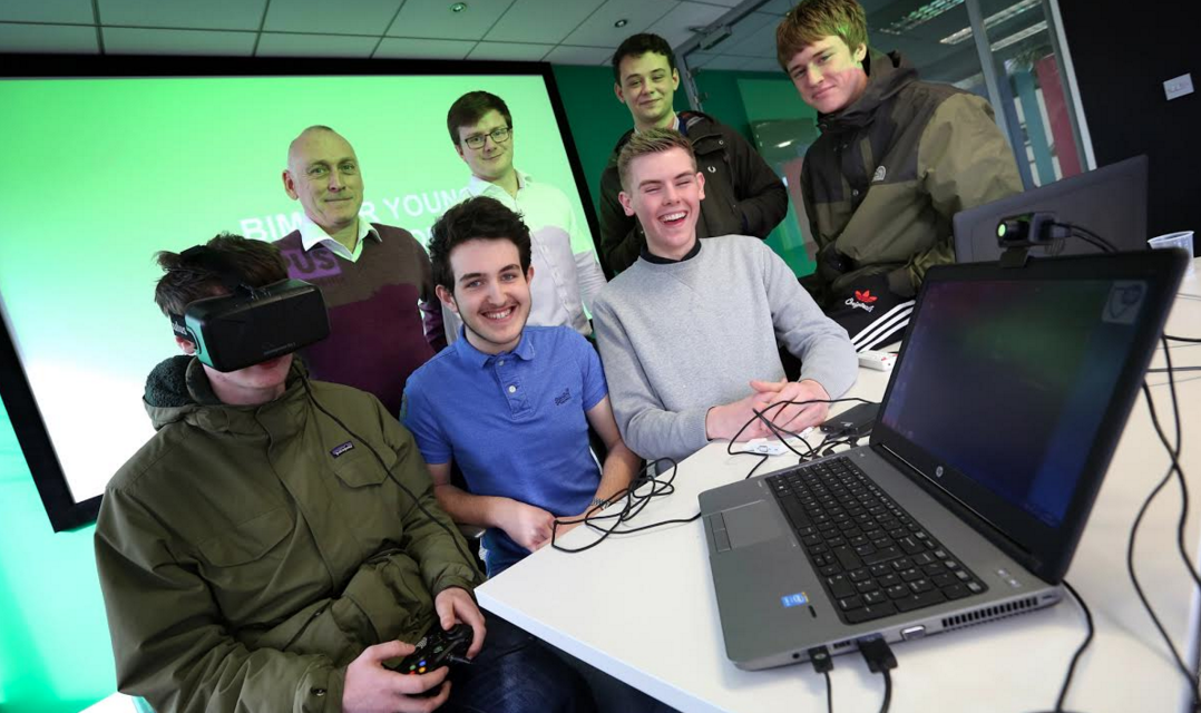 Newcastle College Young Talent Steps into Virtual Reality