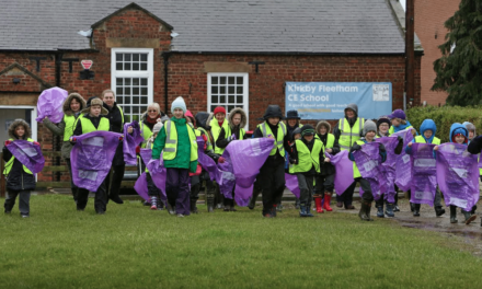 Litter Blitz at Kirkby Fleetham for Clean for The Queen