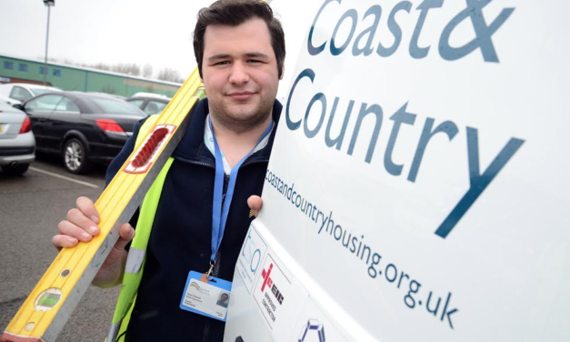 Young people take their first step onto the career ladder with housing association